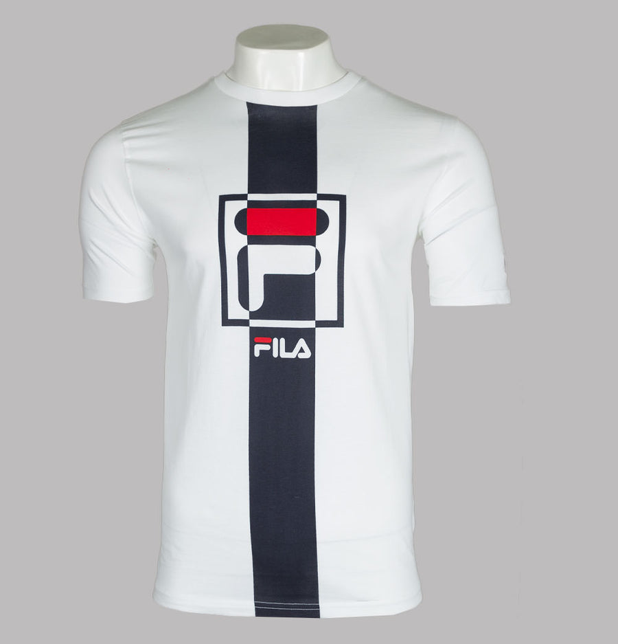 Fila Vintage Wes Graphic T-Shirt White