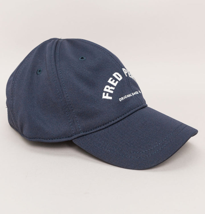 Fred Perry Arch Branded Tricot Cap Navy