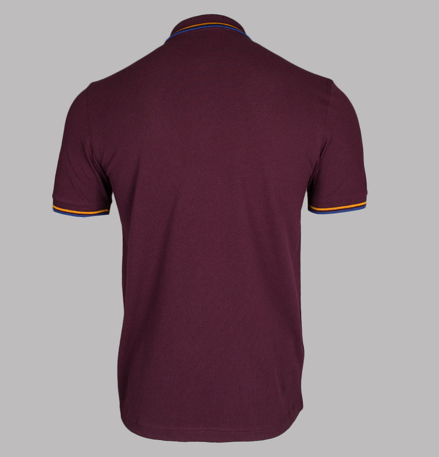 Fred Perry M3600 Polo Shirt Mahogany/Amber