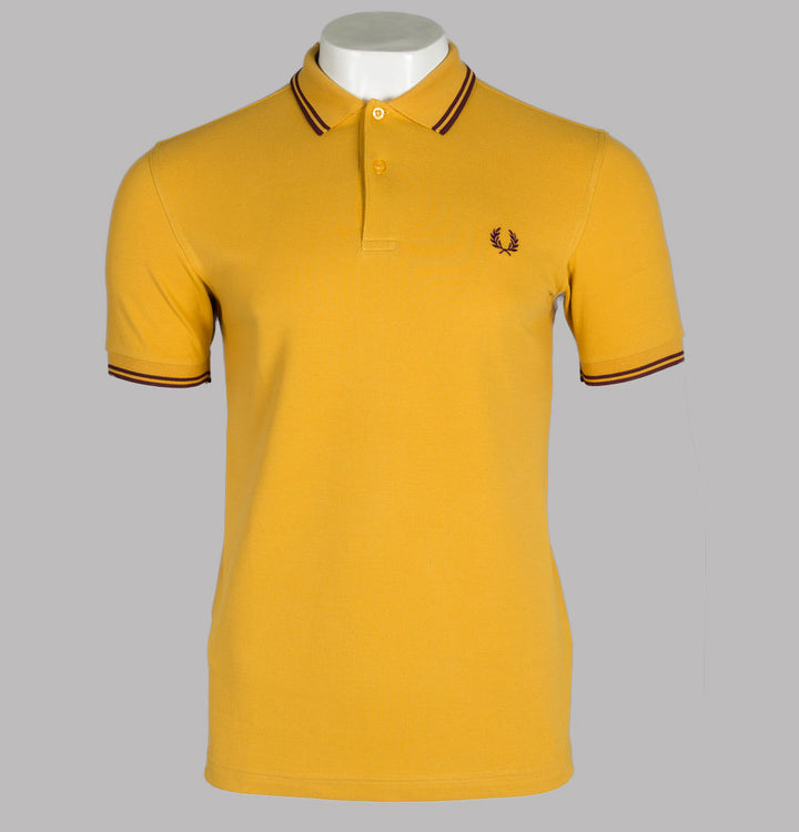 Fred Perry M3600 Polo Shirt Gold