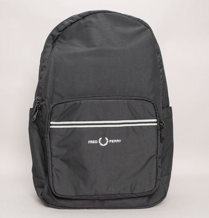 Fred Perry Sports Twill Backpack Black