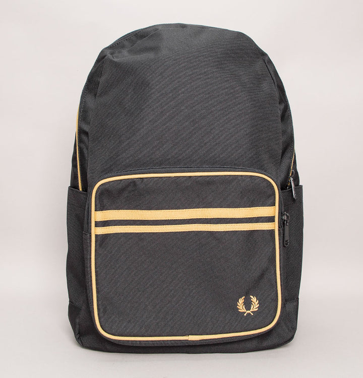 Fred Perry Twin Tipped Backpack Black/Champagne