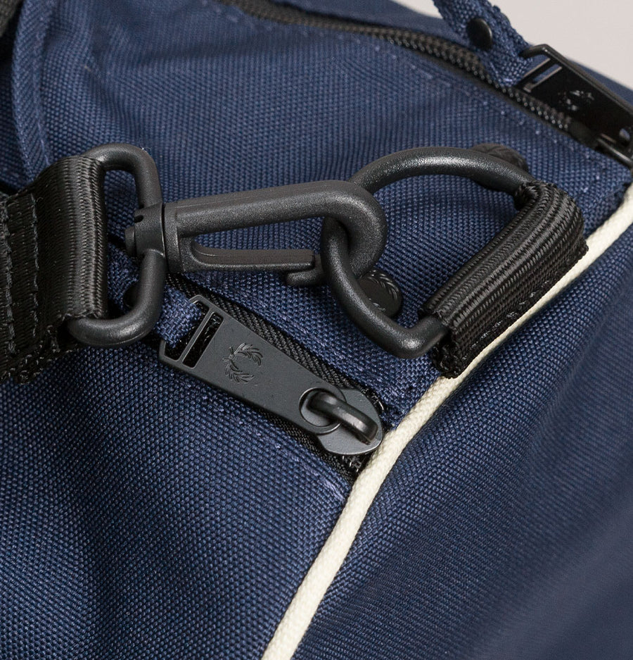 Fred Perry Twin Tipped Barrel Bag Navy