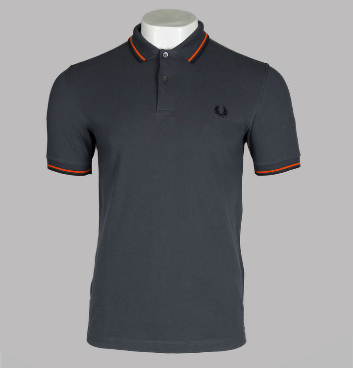 Fred Perry M3600 Polo Shirt Charcoal Grey