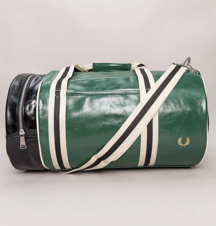 Colour Block Barrel Bag