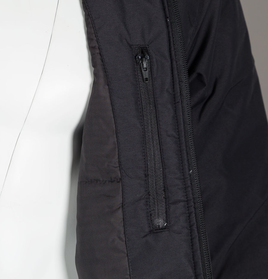 Fred Perry Padded Hooded Brentham Jacket Black
