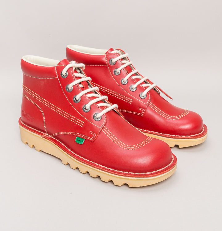 Kickers® Kick Hi Classic Boots Red