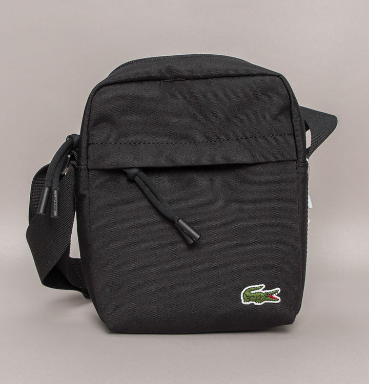 Lacoste Canvas Vertical All-Purpose Bag Black