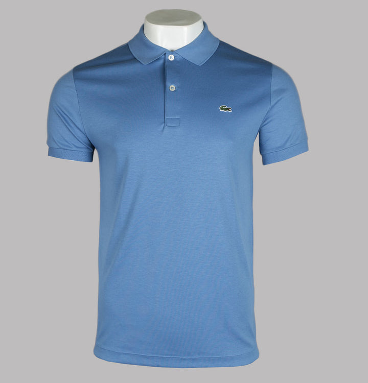 Lacoste Cotton Jersey Polo Shirt Turquin Blue
