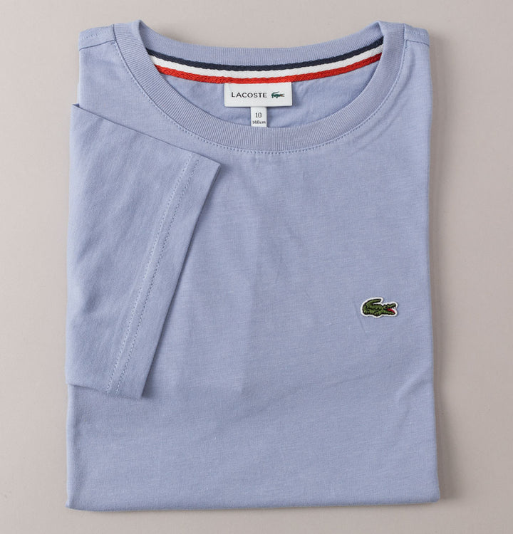 Lacoste Crew Neck Cotton T-Shirt Light Violet