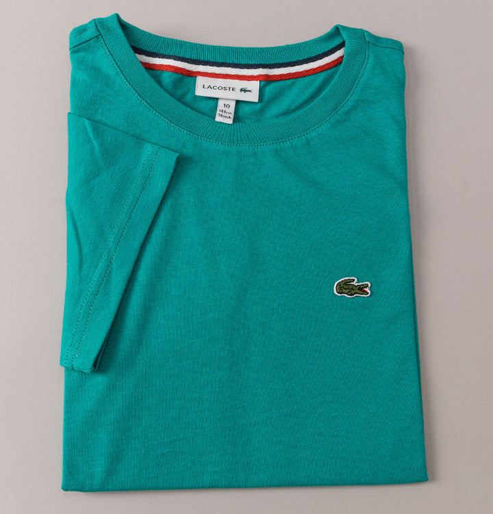 Lacoste Crew Neck Cotton T-Shirt Green