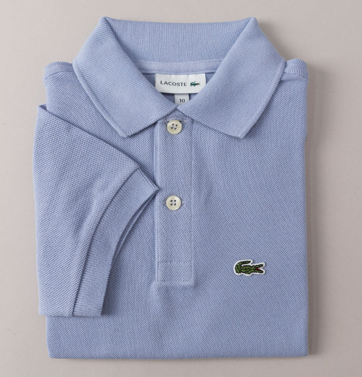 Lacoste Pique Polo Shirt Light Violet