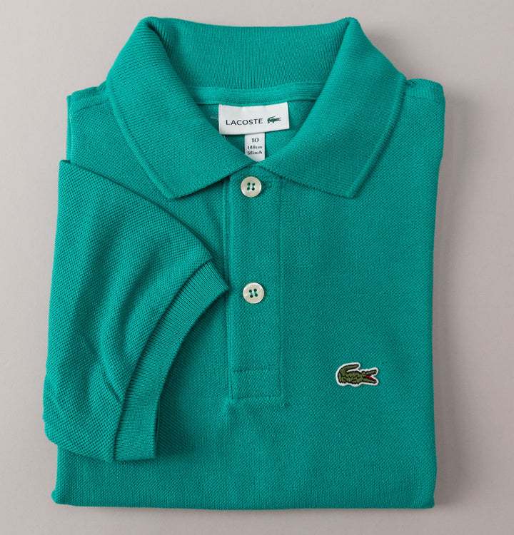 Lacoste Pique Polo Shirt Green