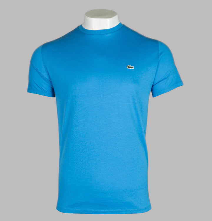 Lacoste Pima Cotton Jersey T-Shirt Ibiza Blue
