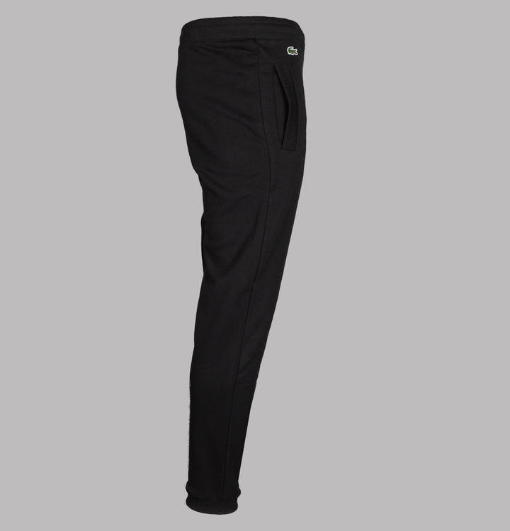 Lacoste Regular Fit Cotton Joggers Black