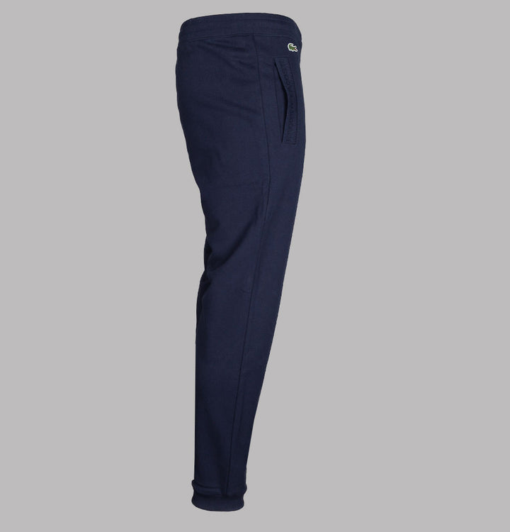 Lacoste Regular Fit Cotton Joggers Navy Blue