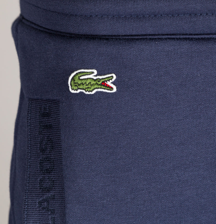 Lacoste Cotton Fleece Joggers Navy