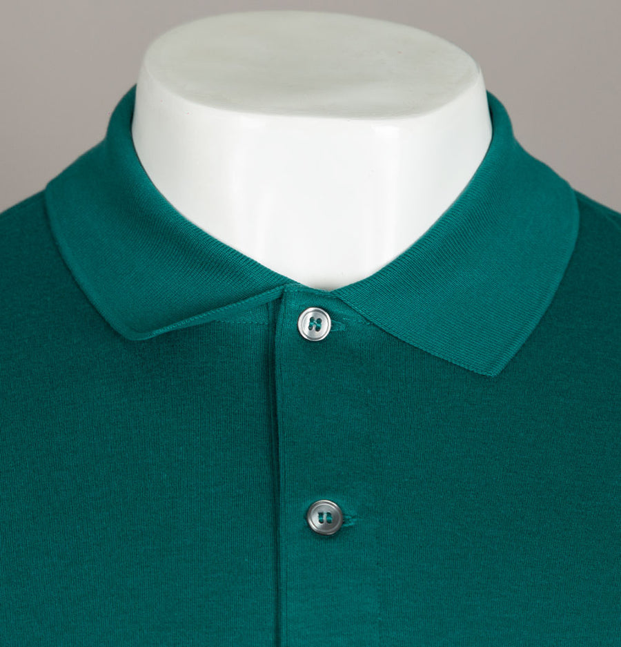 Lacoste Cotton Jersey Polo Shirt Green