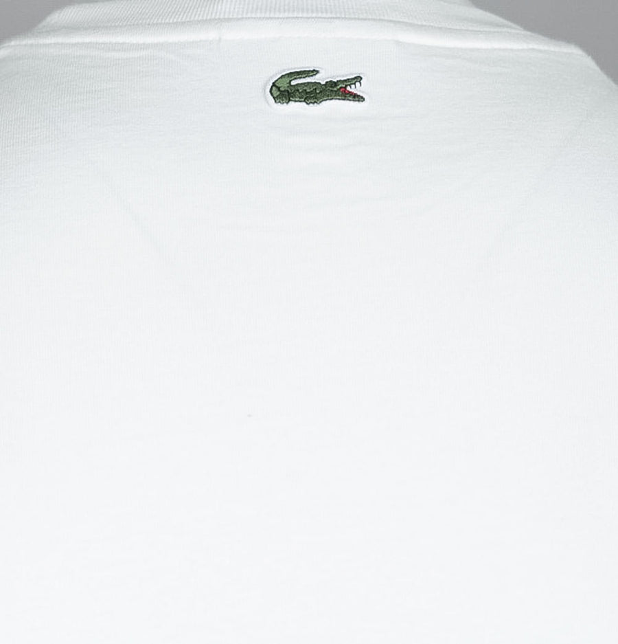 Tone-On-Tone Lacoste Embroidery T-Shirt