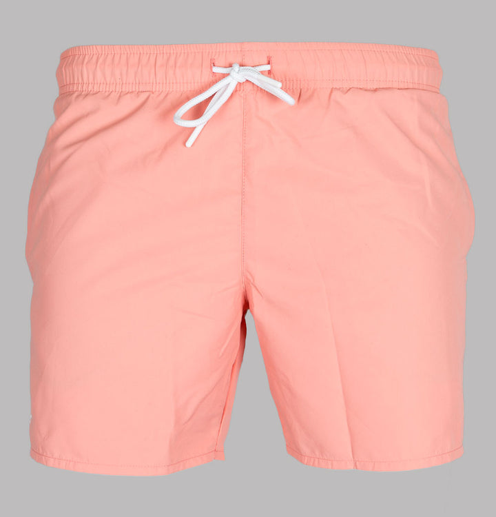 Lacoste Light Quick-Dry Swim Shorts Pink