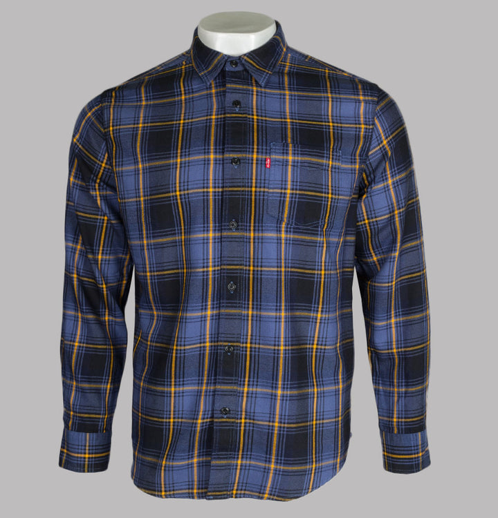 Levi's® Sunset 1 Check Shirt Blue