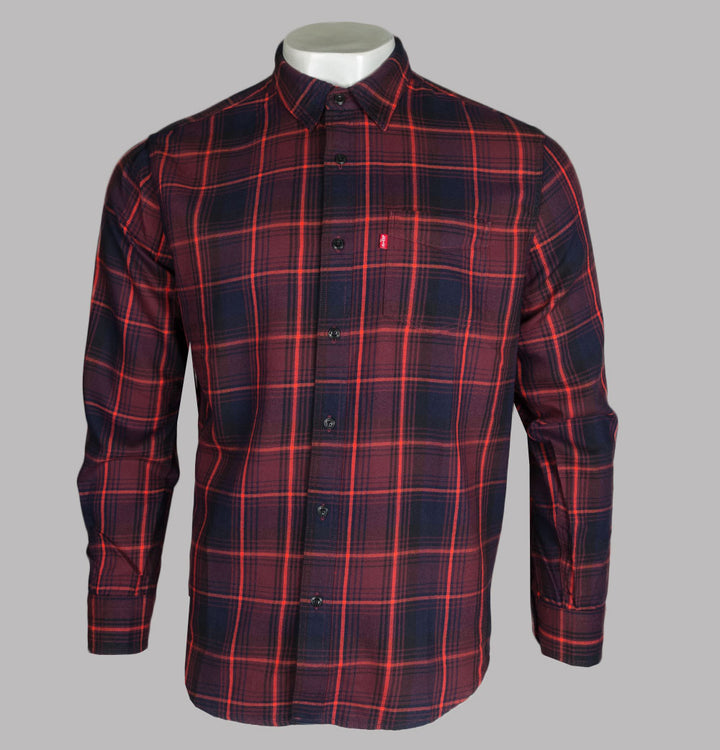 Levi's® Sunset 1 Check Shirt Red