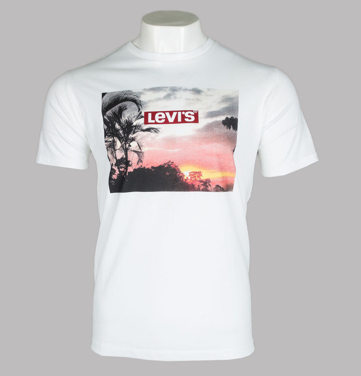 Levi's® Sunset Graphic T-Shirt White