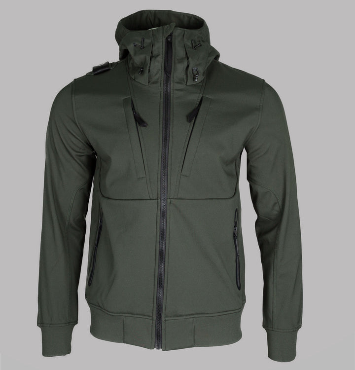 Velo Hooded Softshell Jacket