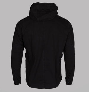 Ma.Strum Hooded GD Jacket Jet Black