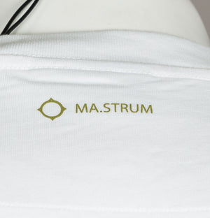 Ma.Strum Icon Box Logo T-Shirt White