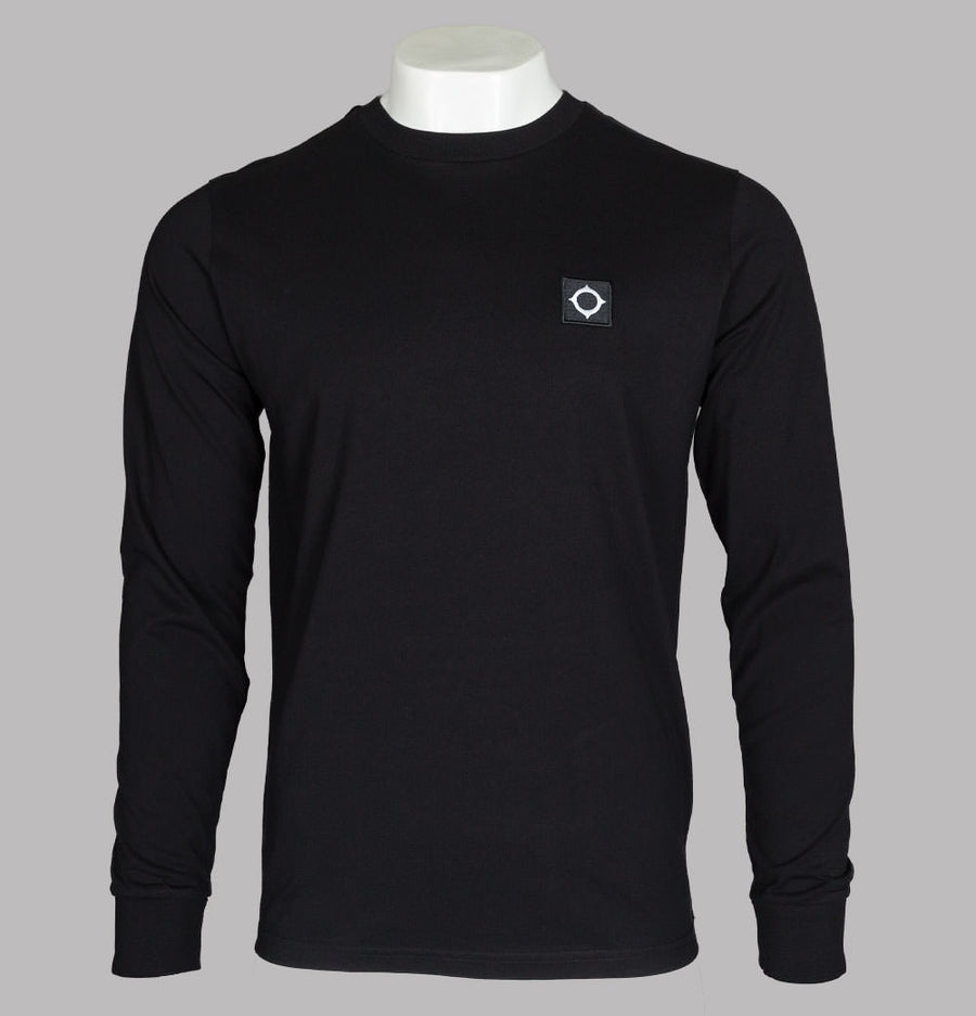 Ma.Strum L/S Icon T-Shirt Jet Black
