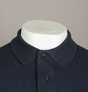 M.Strum S/S Pique Polo Shirt Dark Navy