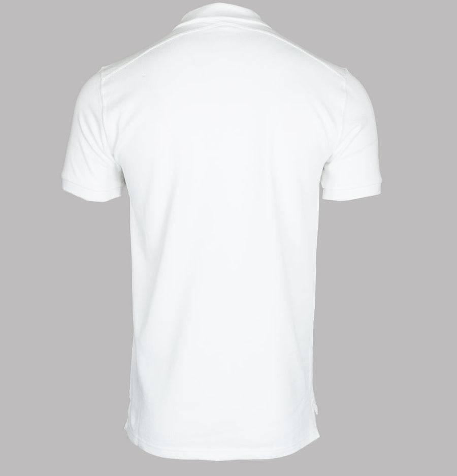 Ma.Strum S/S Pique Polo Shirt Optic White