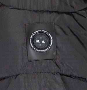 Marshall Artist Paninaro Bubble Jacket Black