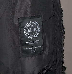 Marshall Artist Ripstop Windrunner Jacket Black