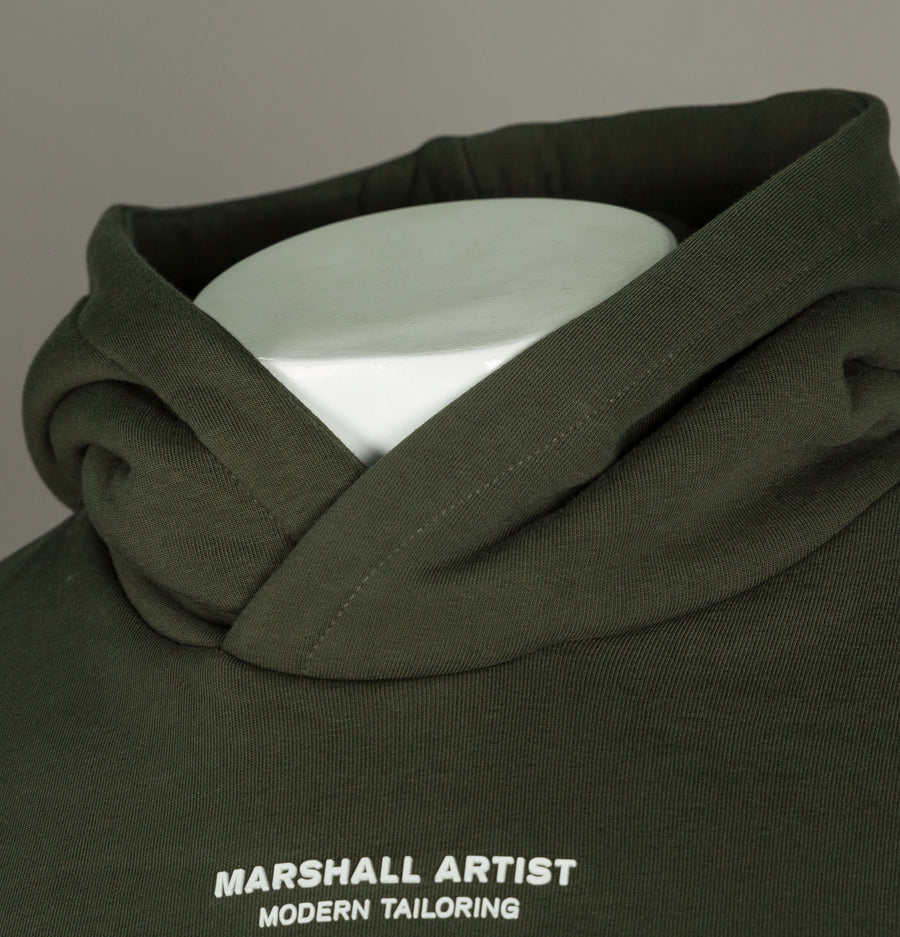 Marshall Artist Siren OTH Hooded Sweat Khaki