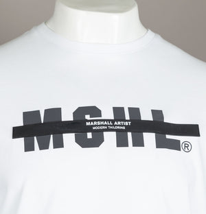 Marshall Artist Hybrid Tech T-Shirt White