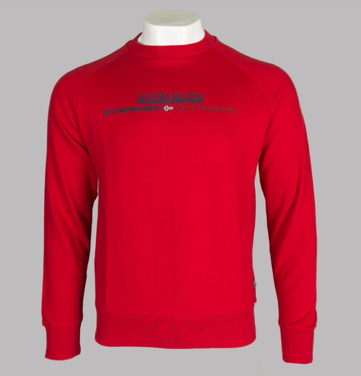Napapijri Bastia Sweatshirt Bright Red