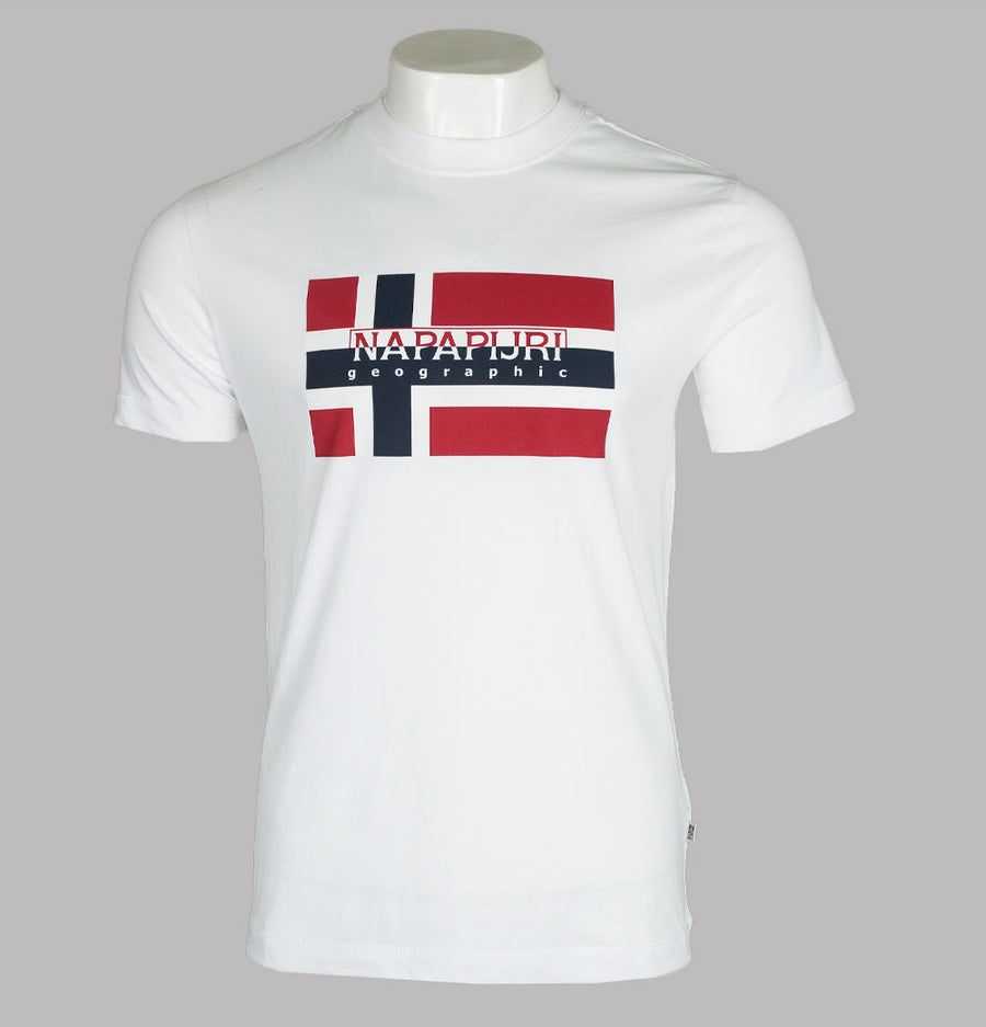 Napapijri Sovico T-Shirt Bright White