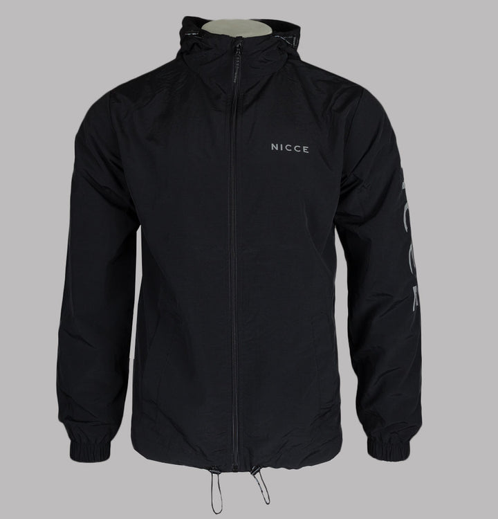 Nicce Jolla Hooded Jacket Black