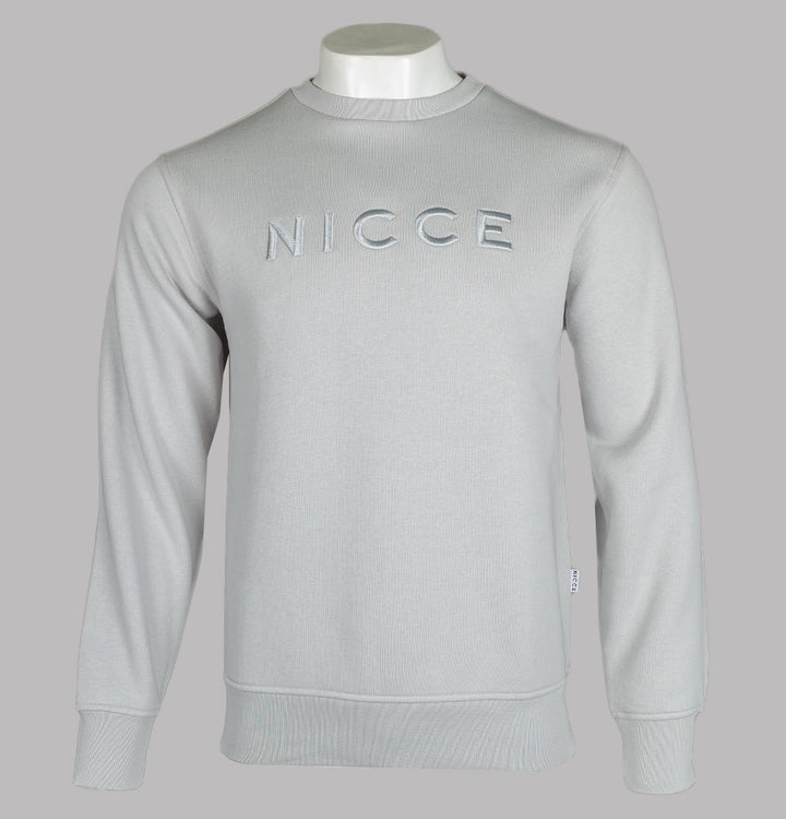 Nicce Mercury Sweatshirt Stone Grey