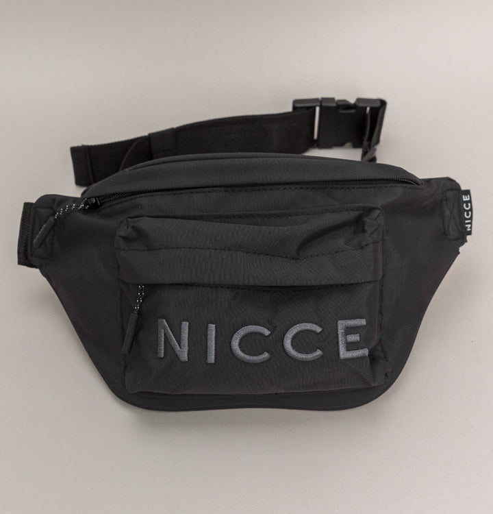 Nicce Mercy Bum Bag Black/Coal