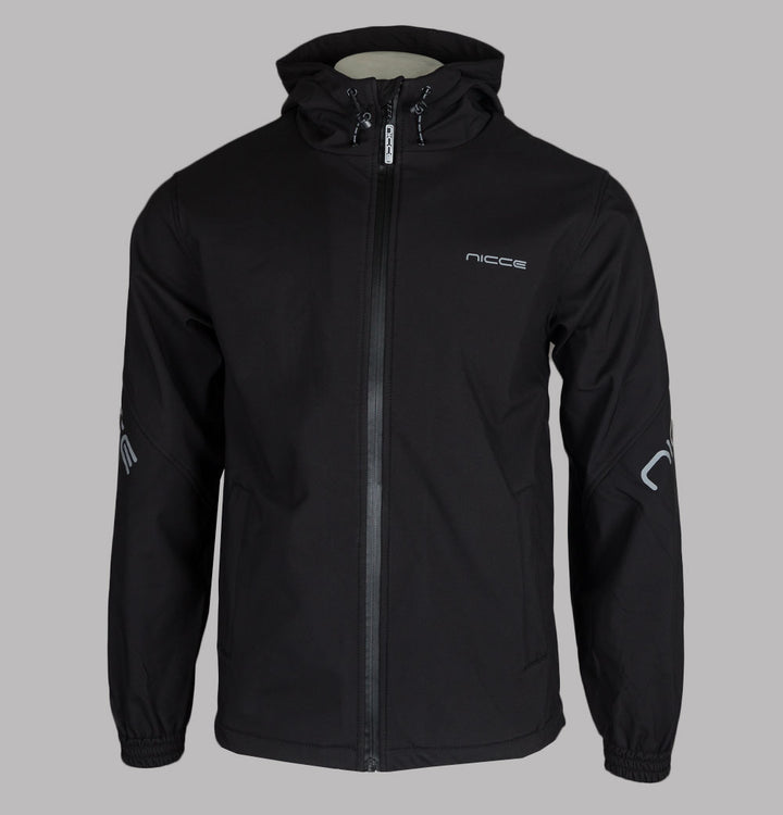 Nicce Nexo Hooded Jacket Black