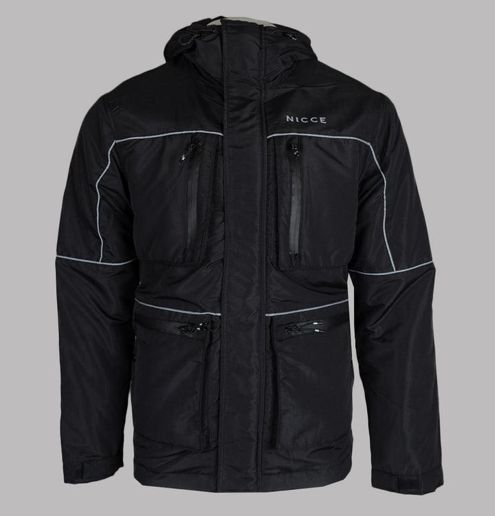 Nicce Tour Hooded Jacket Black