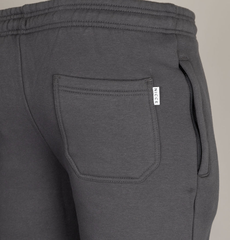 Nicce Original Jogger Shorts Coal Grey