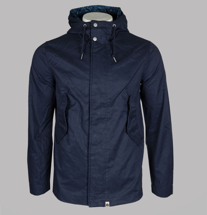 Cotton Zip Up Hooded Jacket