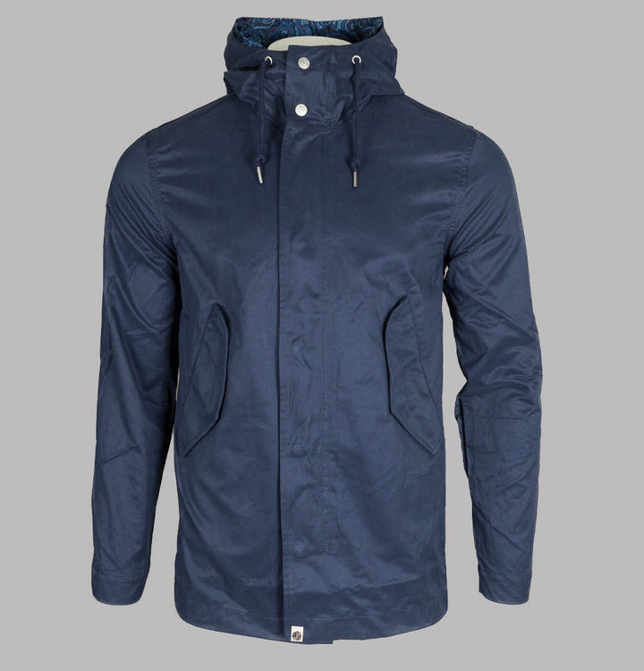 Lightweight Cotton Zip Up Hooded Jacket