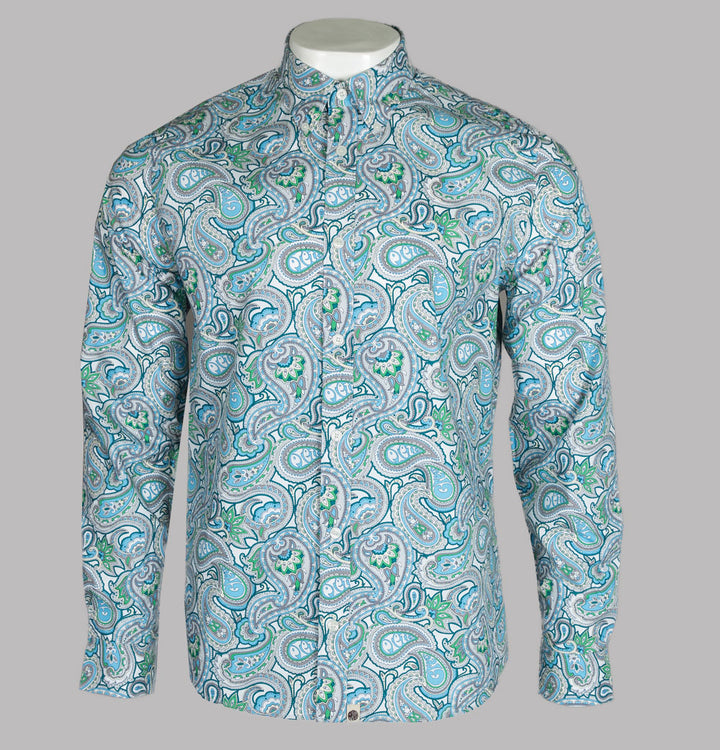 Slim Fit Paisley Print Shirt
