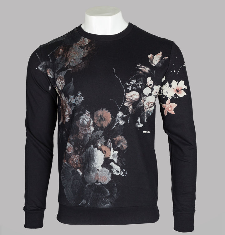 Dark Flower Sweatshirt