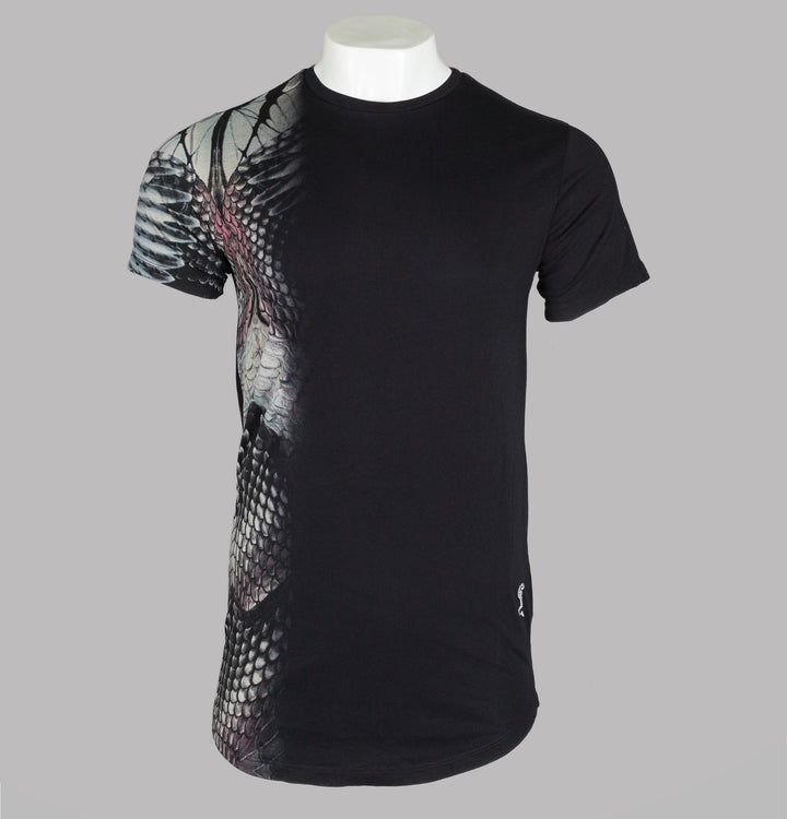Religion Animal Skin T-Shirt Black